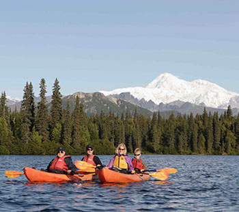 Guided Rafting and Kayaking Tours on Byers Lake in Denali Park