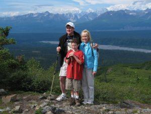 Hike & raft tour Denali State Park in Alaska